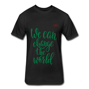 We Can Change The World - black