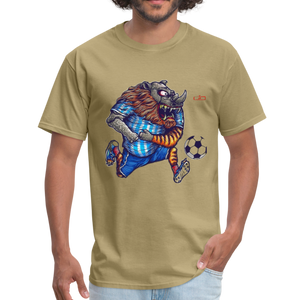 Let's Play Soccer - khaki