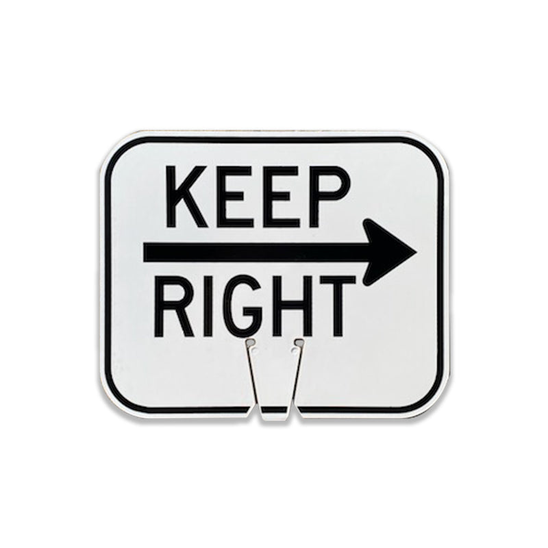 "Keep Right  | 12 3/4"" W x 10 1/2"" L"