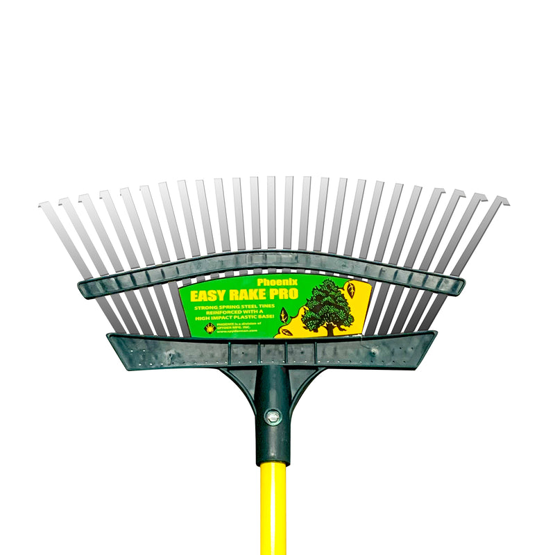 "Phoenix | 18"" Easy Rake Pro w/48"" Metal Handle"
