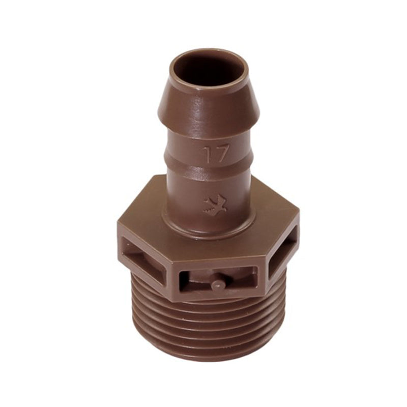 Rainbird | XFFMA075 - Barb Male Adapter - 17mm x 3/4 in. MPT