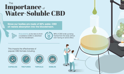 Water-Soluble CBD: A Game Changer for Consumer Packaged Goods