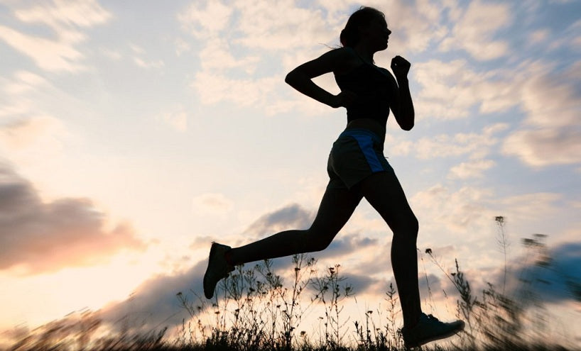 A woman jogging- CBD is a Vital Supplement for all Round Health