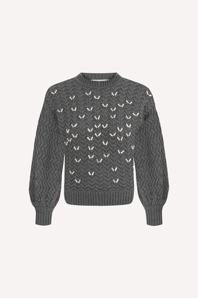 Flock of Birds Chevron Sweater
