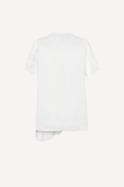 Deconstructed Peplum T-Shirt