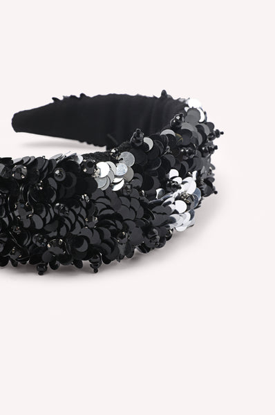 Sequin Beaded Headband