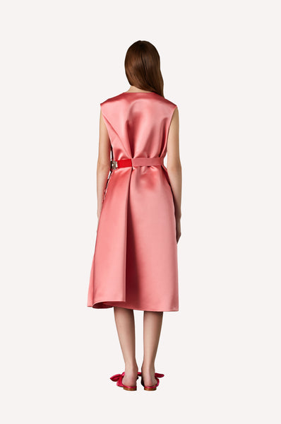 Bonbon Asymmetric Bow Dress