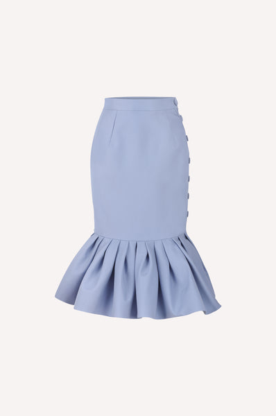 Buttoned Mermaid Skirt