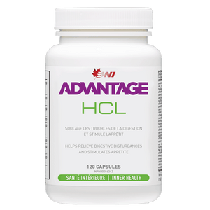 HCL (120 CAPSULES)