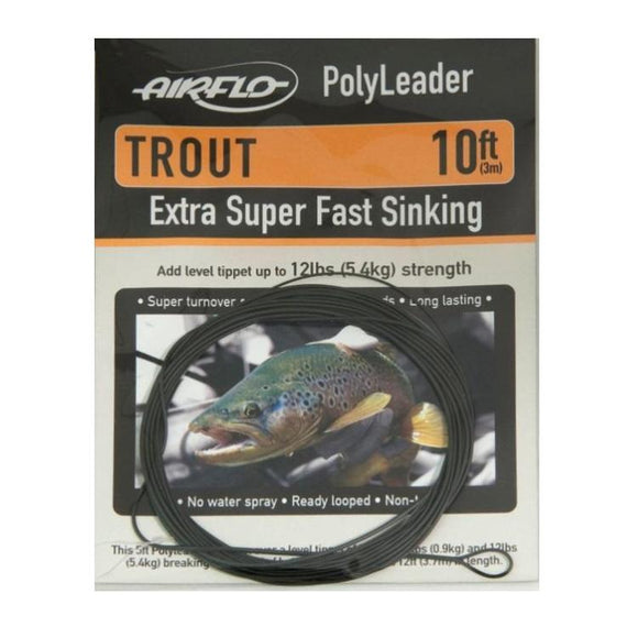 Airflo Polyleaders 10ft Trout