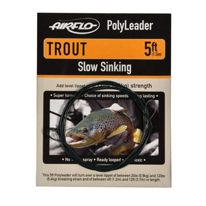 Airflo Polyleaders 5ft Trout