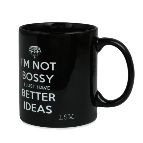 Mug - I`m not Bossy - I just have Better Ideas - Black