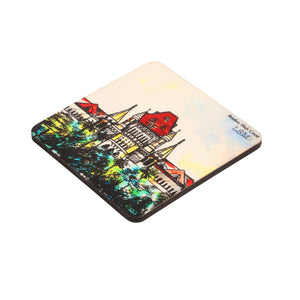 Combo Of Bombay High Court Mug & 2 Coasters - Coloured