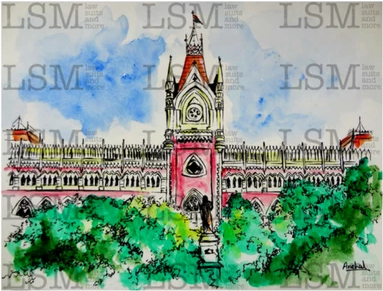 "Original - Calcutta High Court - 8"" x 10"""
