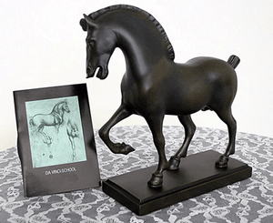 Figurine - The Vinci Horse