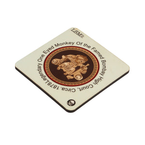 Combo Of Bombay Monkey Mug & 2 Coasters