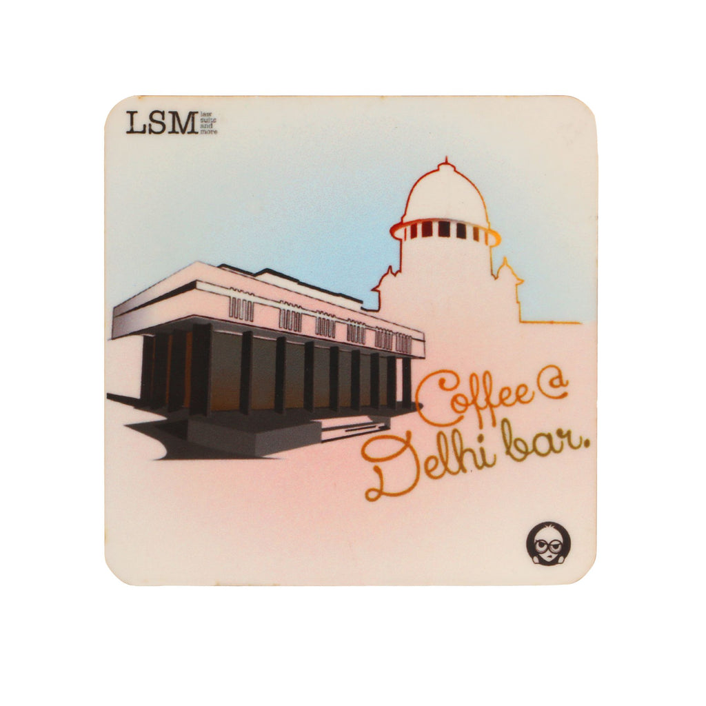 Coasters - Coffee @ Del Bar - Set of 4