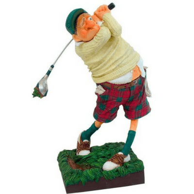 Figurine - Fore The Golf Player