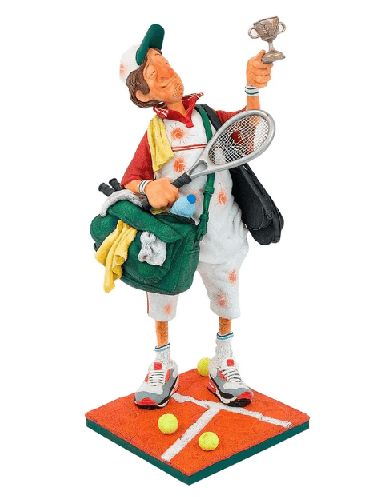 Figurine - The Tennis Player