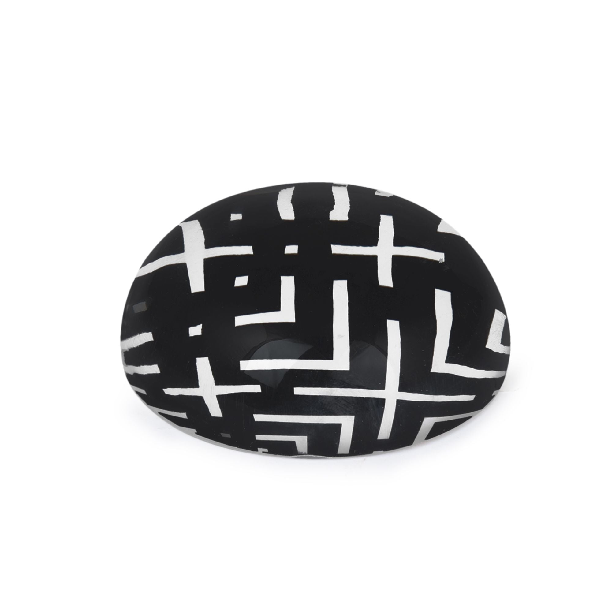 Black and White Paperweight | Office Desk Accessories