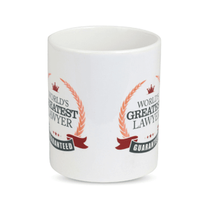 Mug - World`s Greatest Lawyer - Orange