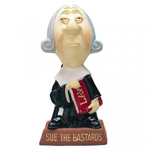 Sue the Bastards Office Decor figurine