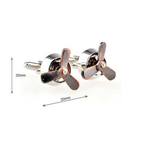The Propeller Cufflinks - Law Suits and More