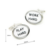 Work Hard - Play Hard cuffs - Law Suits and More