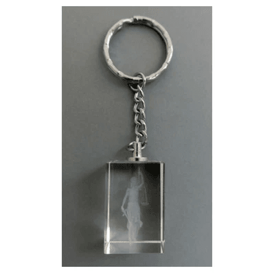 Keyring - Lady of Justice