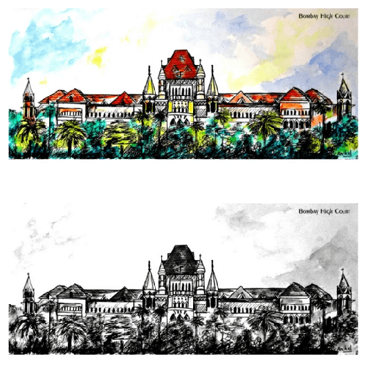 Greeting Cards - Bombay High Court - Set of 10