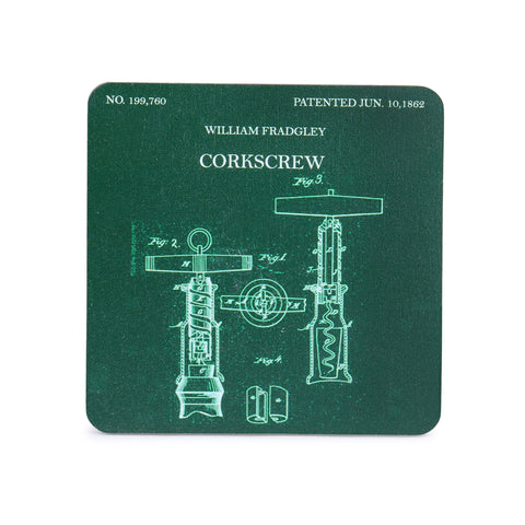 Coasters - Supreme Court in Color - Set of 4