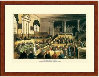 Poster - Old Bailey, 1805