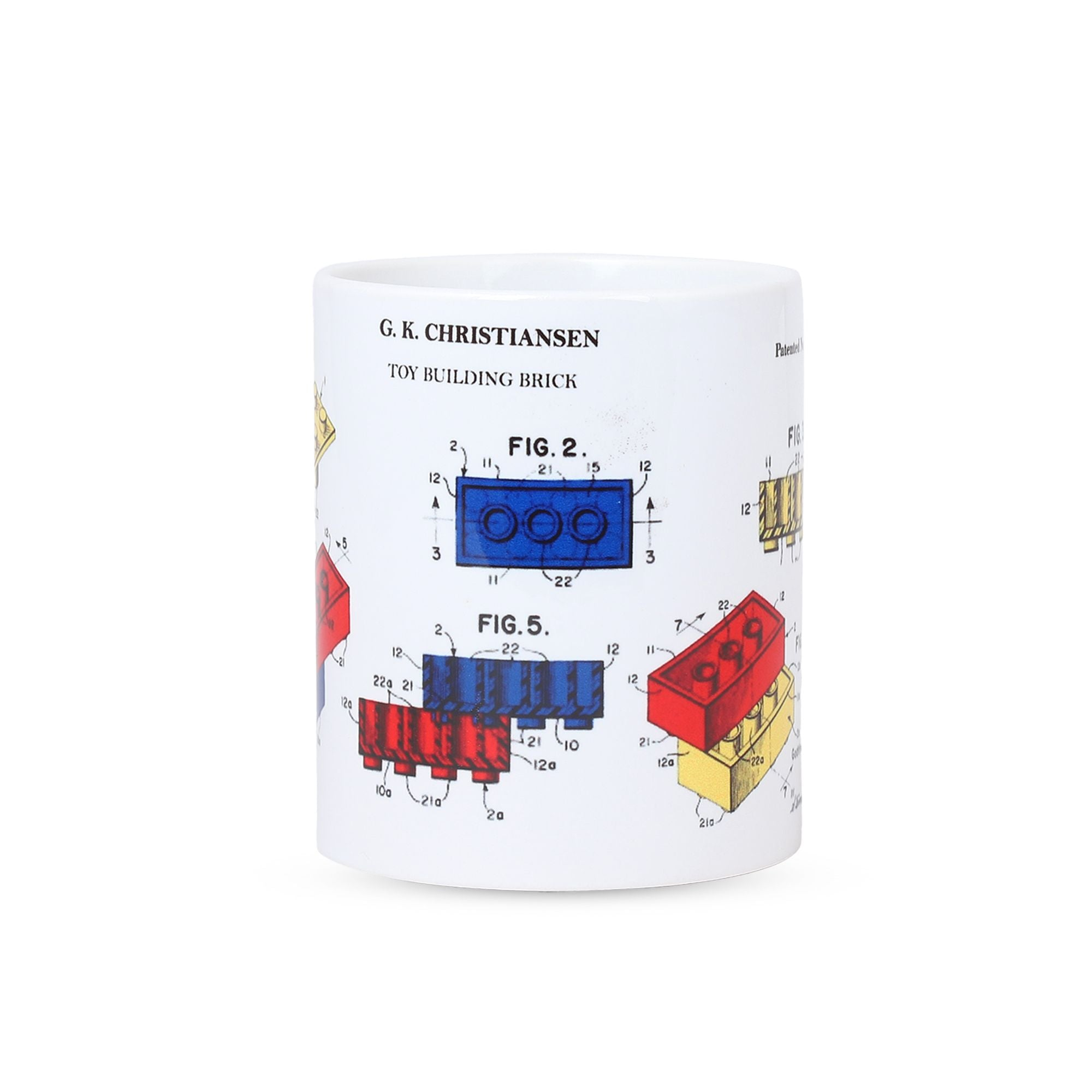 Colourful Lego Patent Mug