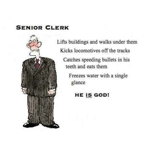 Poster - Clerk is God