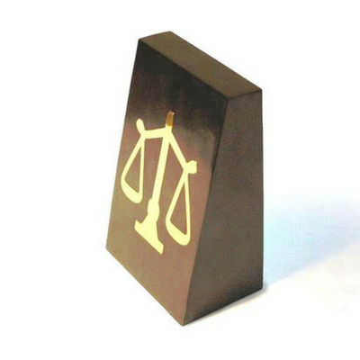 Book-End - The Classic Black & Gold