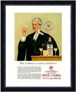 Poster - House of Lords Gin
