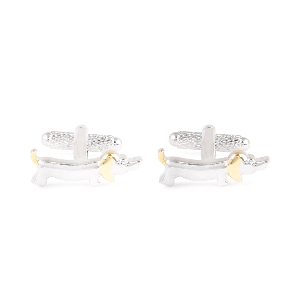 Pet Cufflinks, Silver & Gold