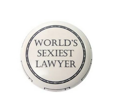World's Sexist Lawyer Resin Paperweight with Text