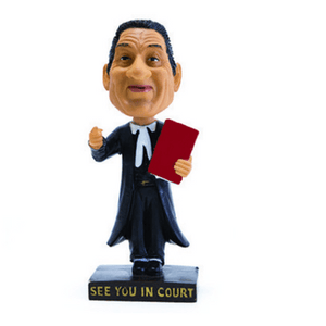 Flawed Lawyer Bobblehead - Figurine