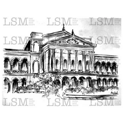 Print of the Karnataka High Court - B&W