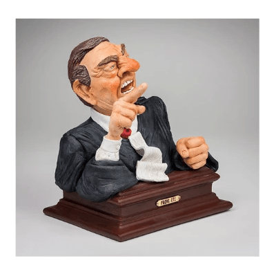 Lawyer bust- Prove it! Figurine