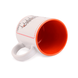 Mug - Jolly LLB - Orange inside