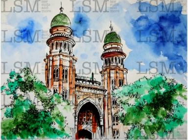 "Original - Madras High Court - 8"" x 10"""