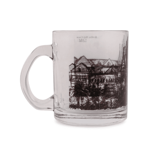 Glass Mug - Bombay High Court - B&W