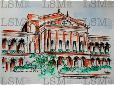 "Original - Karnataka High Court - 8"" x 10"""