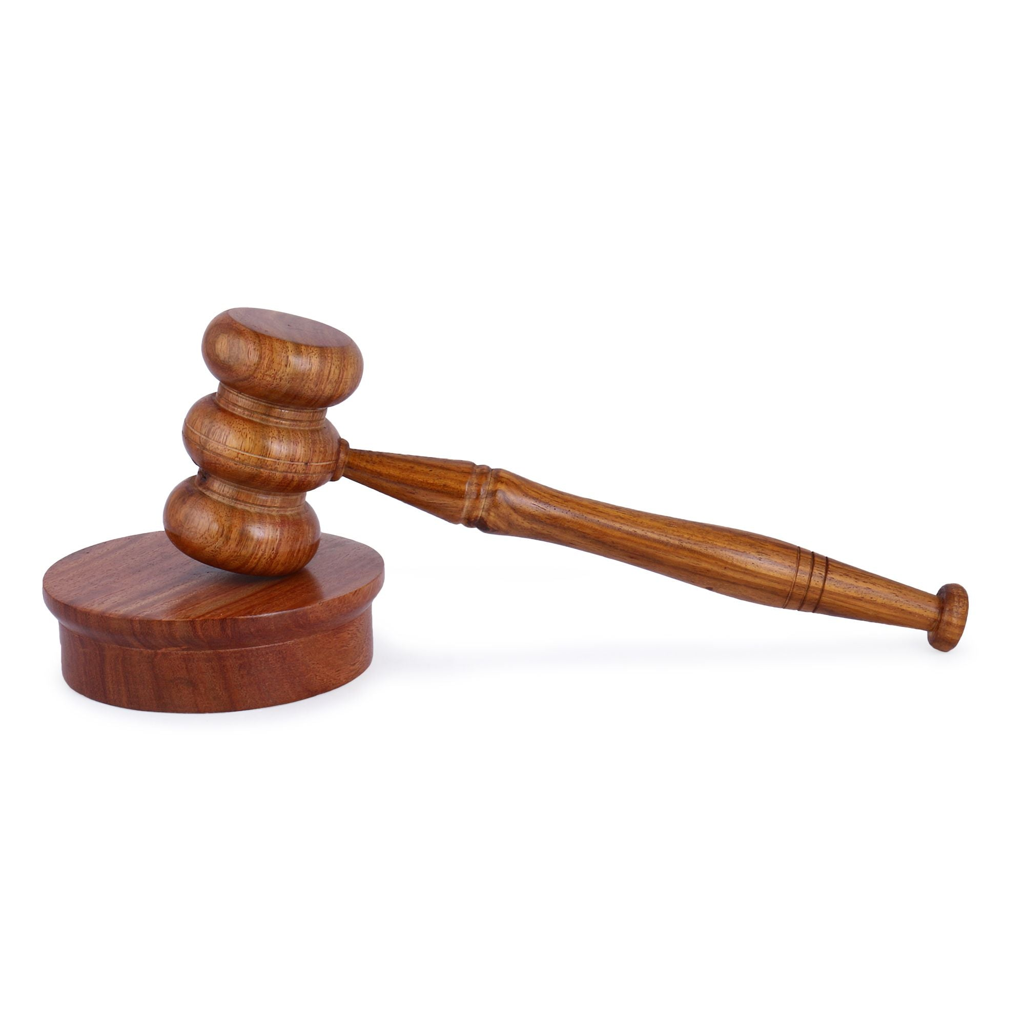 Gavel & Block Wooden Set