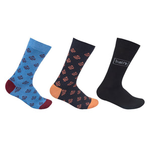 The Sassy Solicitor Colourful Socks, Full Length, Set of 3