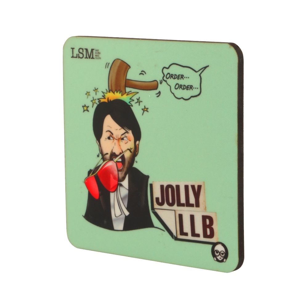 Coasters - Jolly LLB - Set of 4
