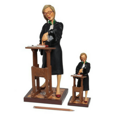 Figurine - The Lady Lawyer