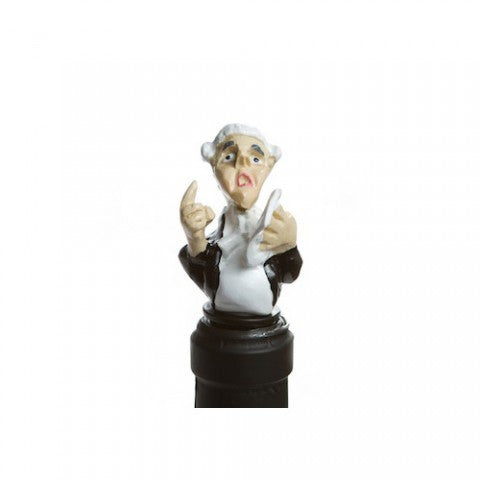 Barrister Bottle-Stopper - LawFirm Gift I Wine Advocate Gift